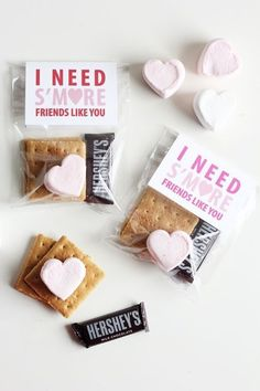 Throw in a sweet treat - Valentine's Day Cards to DIY with Your Kids - Photos