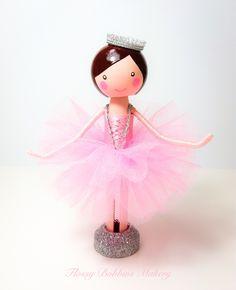Peg doll Clothespin doll Fairy | Flossy Bobbins Makery