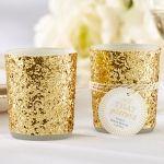 All That Glitters Gold Votive/Tealight Holder (Set of 4)