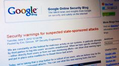 Google to warn users of 'state-sponsored attacks' -- Google has begun to warn its users if their accounts may be compromised by state-sponsored cyber attacks, to help people protect personal data.