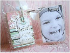 zimowy albumik akrylowy Scrapbook, Phone Cases, Cold, Seasons, Winter, Winter Time, Seasons Of The Year, Scrapbooking, Winter Fashion