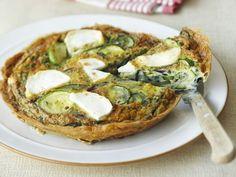 Zucchini-Ziegenkäse-Quiche ist ein Rezept mit frischen Zutaten aus der Kategorie Omelett. Probieren Sie dieses und weitere Rezepte von EAT SMARTER!