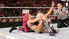 Beautiful Women of Wrestling: Sasha Banks - WWE Women
