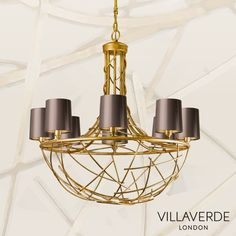 The FERRO metal chandelier – Sculpturally classic yet contemporary, beautifully designed by Claudio Marco and handcrafted with traditional methods in Italy by our experienced craftsmen, exclusive to Villaverde.