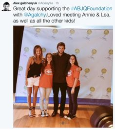 Anna and Chucky at the ABJQFoundation