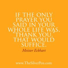 Isn't this so true? Saying Thank You is a beautiful way to practice Gratitude