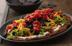 Seven-Layer Bean Dip | Flickr - Photo Sharing!