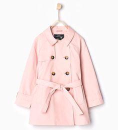Long trench coat-JACKETS-GIRL | 4-14 years-KIDS | ZARA United States
