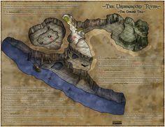 The Underground River by RecklessEnthusiasm.deviantart.com on @deviantART