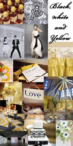 #modern #yellow #wedding
