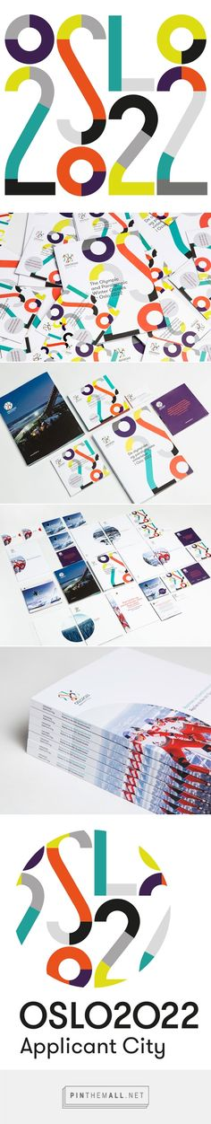 Snøhetta designs visual identity for Oslo's 2022 Winter Olympics bid... - a grouped images picture - Pin Them All
