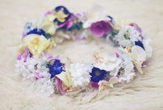 20 DIY Bridal Fresh Flower Crowns