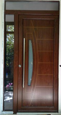 Best 30 wooden door design ideas for modern e entry 2019 House Main Door Design, Flush Door Design, Single Door Design, Wooden Front Door Design, Door Gate Design, Room Door Design, Wooden Front Doors, Door Design Interior, Double Door Design