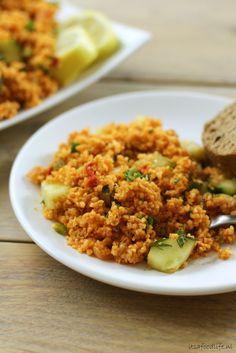 Recept: Kisir, Turkse bulgur salade. Vegetarisch en gezond! Perfect voor bij de BBQ. | It's a food life