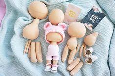 Handmade doll Stoffpuppe Poupée Tilda doll Fabric doll Textile doll Cloth doll Art doll Bambole Rag doll Puppen Muñecas Beige doll Yulia K Doll Crafts, Diy Doll, Doll Toys, Baby Dolls, Crochet Baby Toys, Diy Crochet, Doll Tutorial, Sewing Dolls, Waldorf Dolls