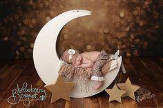 Mond Mond-Foto-Prop Neugeborenen Fotografie Prop von MrAndMrsAndCo