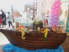Ariel # festa de aniversário para meninas.