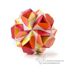 #polyhedra #origami #kusudama #lukasheva_ekaterina #favoritte