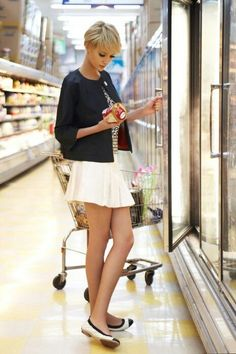 """Love the cut [   """"pixie + fla 