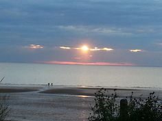 The Sunset from Old Hunstanton Beach