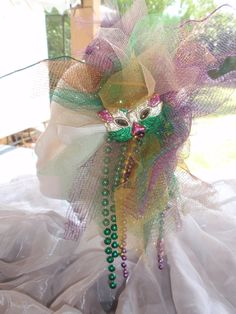 Your place to buy and sell all things handmade Fascinator Hats, Headpiece, Fascinators, Mardi Gras Hats, Good Times Roll, Playing Dress Up, Green And Gold, Christmas Wreaths, Art Pieces