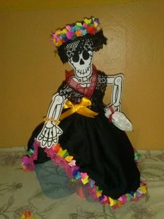 Calaca vestida de Catrina