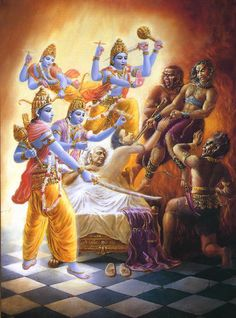 Srimad Bhagavatam Audio Lectures: Canto 6 Chapter 1 – The Hare Krishna Revolution Lord Krishna Images, Radha Krishna Images, Krishna Radha, Hanuman, Krishna Leela, Hare Krishna, Krishna Love, Indian Gods, Indian Art