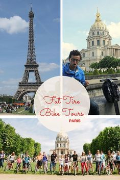 See Paris on Wheels with Fat Tire Bike Tours