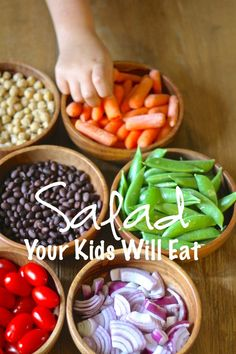 How to make a salad your kids will actually eat!