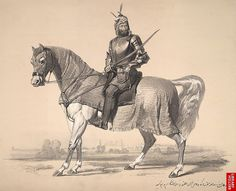 Art Painting Raja Lal Singh of First Anglo Sikh War 1846