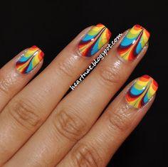 heartNAT: 31 Day Nail Challenge--Day 9: Rainbow