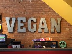 Vegan | Dr. Chris E. Stout | Flickr Neon Signs, Vegan, Decor, Decoration, Decorating, Vegans, Deco