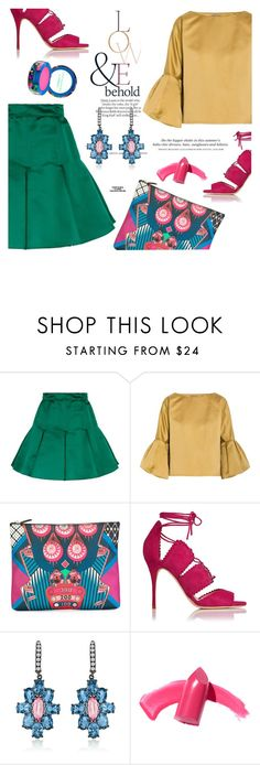 """Clutch"" by dorachelariu ❤ liked on Polyvore featuring Dolce&Gabbana, ASOS, Bottega Veneta, Etro, H&M, Elizabeth Arden, MAC Cosmetics, Rika and clutches"