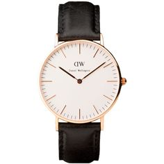 Classic St Andrews Rose Gold & Brown Leather Women's Watch Daniel Wellington Spare Parts
