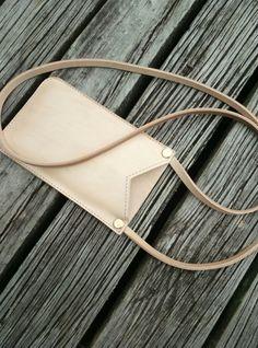 Vege tan phone pouch Pouch, Moon, Bags, Fashion, The Moon, Handbags, Moda, Fashion Styles, Taschen