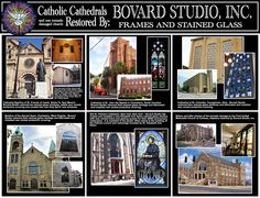 Catholic Cathedrals restored by Bovard Studio