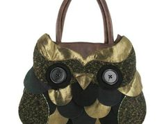 Irregular Choice Bags Twit Twoo Shopper ICTWIT01 - One Size UK - Brown