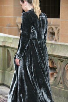 'Alejandra' 2013 velvet dress coat