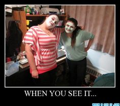 When you see it. If you can't find it, look between the girls underneath the desk.