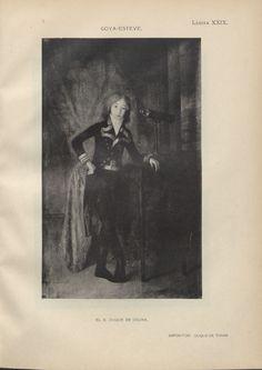Exposición de retratos de niño en España :, Lámina XXIX. Goya-Esteve. El X Duque de Osuna
