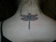 Dragonfly Tattoo by ~LadyDee17 on deviantART
