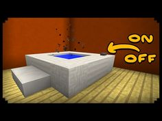 ✔ Minecraft: How to make a Working Hot Tub (Improved Version) - YouTube