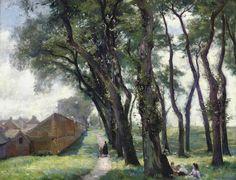 The children's picnic, William Mainwaring Palin. (1862 - 1947)