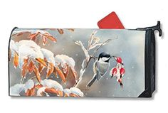 MailWraps Winter Day Chickadees Mailbox Cover 05964 *** You can get additional details at the image link. (This is an affiliate link and I receive a commission for the sales)