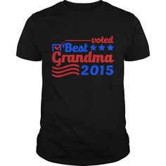 Get yours cool Voted Best Grandma Best Gift Shirt Shirts & Hoodies.  #gift, #idea, #photo, #image, #hoodie, #shirt, #christmas