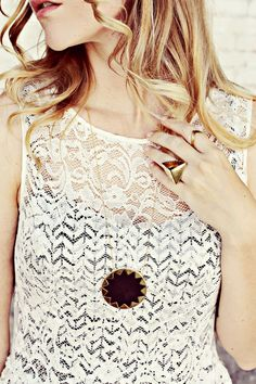 via A Beautiful Mess - jewelry from shopbob
