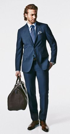 The New Rules of Suits: my favorite is Rule No. 13: The jigger, i.e., the single button inside a double-breasted jacket, is the male equivalent of the bra. It should always be fastened in order to hold everything in place.