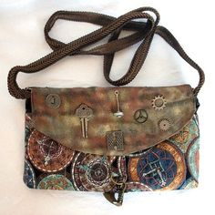 steampunk fashion - Steampunk Explorer Clutch