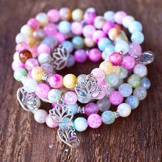 Lotus bracelet. www.faywithlove.com