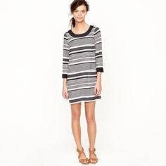 Jules dress in silk stripe / J.Crew